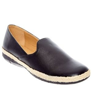 Baylee Flat By Comfortview® Black 7 WW NIB